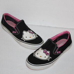 Hello Kitty Slip on Vans Women size 11